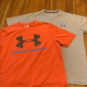 2 Pack Under Armour Heat Gear Shirts